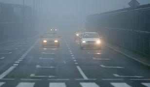 Automatyczne światła nie zdają egzaminu we mgle. Kierowcy o tym zapominają