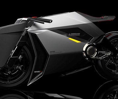Aether, czyli motocykl, który oczyszcza powietrze. Genialny pomysł projektanta