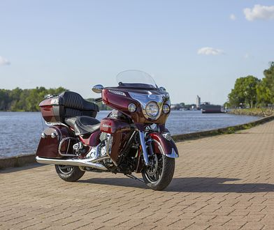 Indian też chce mieć adaptacyjne światła w motocyklach. Prace już trwają