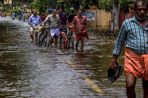 14 dzielnic Kerali zostało zalanych