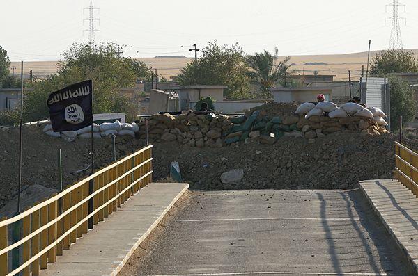 Pozycje Państwa Islamskiego w Iraku