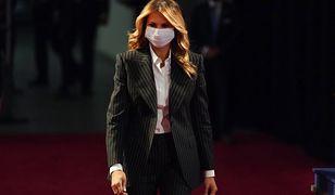 Koronawirus w Białym Domu. Melania Trump o swoim stanie zdrowia