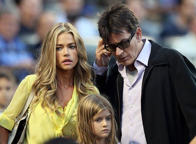 Charlie Sheen o fałszywych oskarżeniach Denise Richards. Sprawa dotyczy alimentów