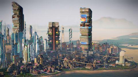 Rzut oka na miasta przyszłości z pierwszego dodatku do SimCity