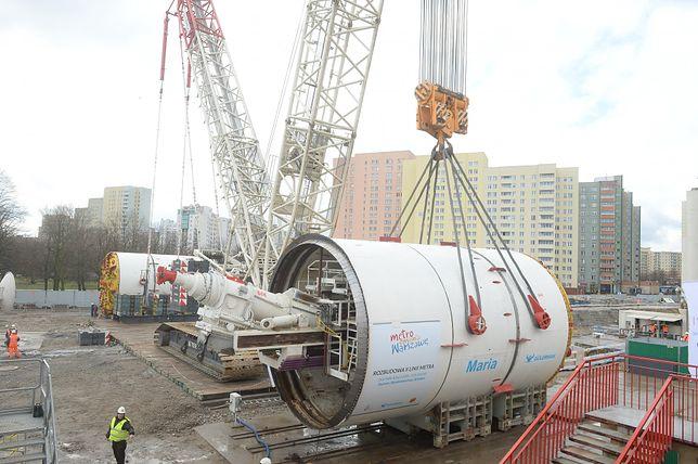 Budowa metra trwa pomimo zagrożenia koronawirusem.