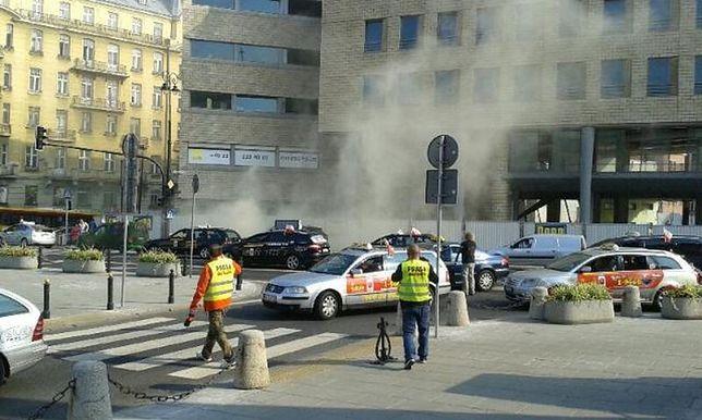 Taksówkarze niewpuszczeni pod Sejm. Cierpieć muszą warszawiacy