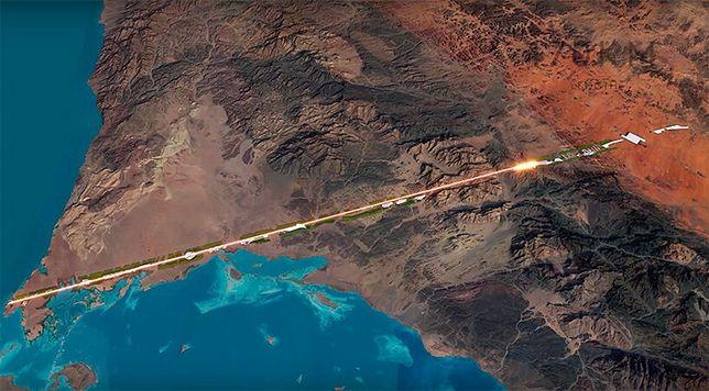 The Line będzie zbudowane w bezpośrednim sąsiedztwie Morza Czerwonego