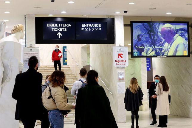 Choć muzeum otwarte jest od początku lutego, to wcześniej nie było tam takich tłumów. Zdjęcie z 4 lutego 2021 r.
