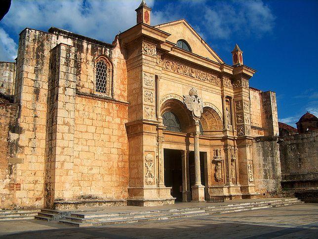 Zona Colonial w Santo Domingo, stara katedra