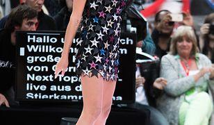 Heidi Klum w sukience Magdy Butrym