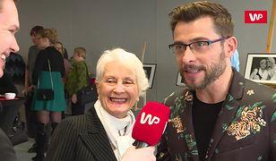 To miał być wywiad z Kacprem Kuszewskim. Seniorka skradła całe show
