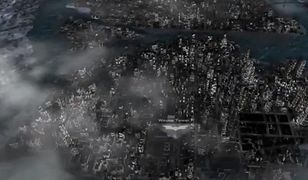 Miasto Batmana na mapach 3D