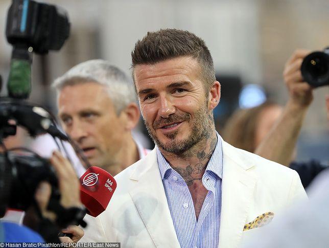 David Beckham i Helena Christensen. Znowu huczy o ich romansie