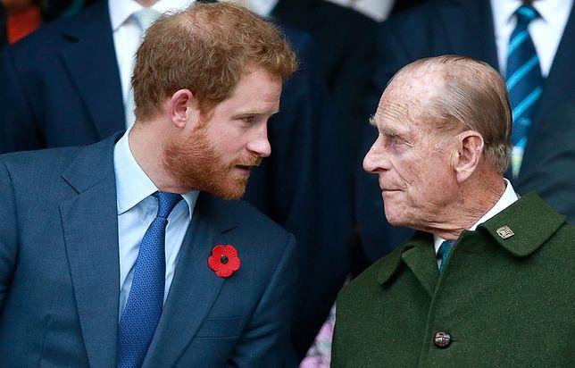 Na pogrzeb księcia Filipa Harry przyleciał z Kalifornii