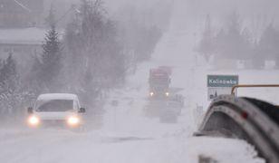 Pogoda. IMGW ostrzega przed intensywnymi opadami śniegu i mrozem