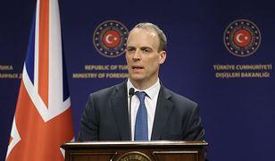 Minister spraw zagranicznych Wielkiej Brytanii, Dominic Raab