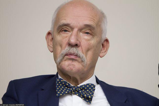 Janusz Korwin-Mikke komentuje zakaz przemieszczania się. Nieprzypadkowo pokazał zdjęcie córki z psem