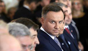 W porównaniu ze styczniem notowania prezydenta Andrzeja Dudy spadły