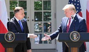 Andrzej Duda i Donald Trump. Już dzisiaj dojdzie do piątego spotkania obu prezydentów