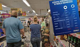 Zakupy w Niemczech tanieją przez obniżkę VAT-u. Jednak to w Polsce ciągle jest taniej
