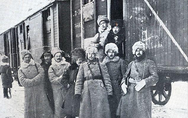 V Dywizja Strzelców Polskich - z Syberii do Polski