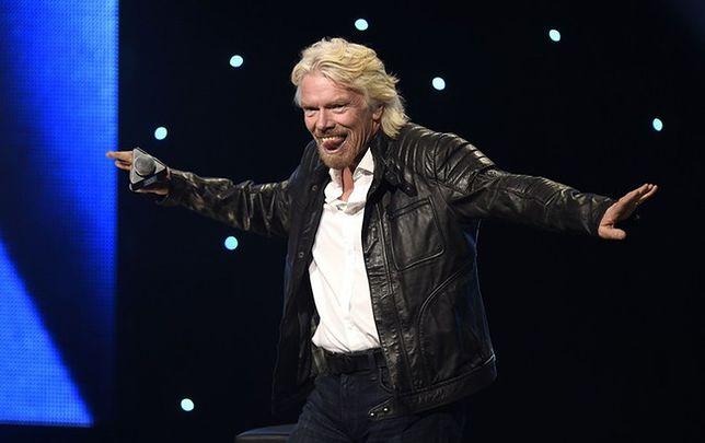 Richard Branson awansował na liście najzamożniejszych Brytyjczyków
