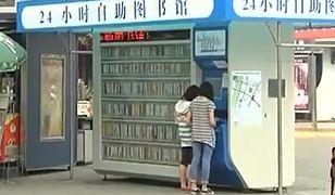 Automaty z książkami na ulicach Pekinu