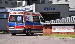 Warszawa. Tragedia w Szpitalu MSWiA. Pacjent wypadł z okna