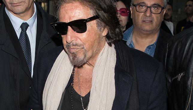 Kiedyś bożyszcze kobiet, dziś wciąż zachwyca. Al Pacino przyłapany w Paryżu