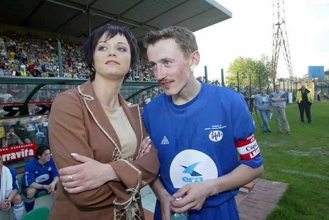 Izabela i Adam Małyszowie w 2003 roku