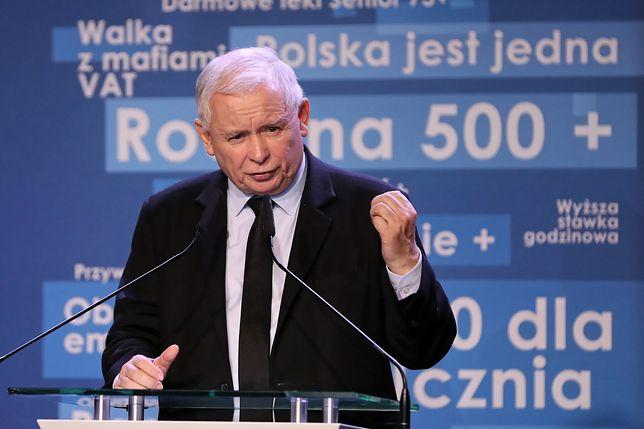 Prezes PiS Jarosław Kaczyński nie musi prostować słów z TVP