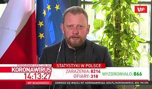 Wniosek o odwołanie Konstantego Radziwiłła. Jest reakcja Łukasza Szumowskiego
