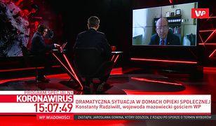 Koronawirus w Polsce. Konstanty Radziwiłł: pracownicy medyczni masową idą na zwolnienia lekarskie