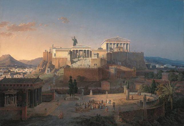 Akropol na obrazie Lea von Klenze