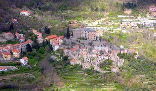 Włochy - opuszczone miasto Balestrino