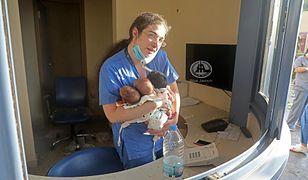 Eksplozja w Bejrucie. Pielęgniarka uratowała troje noworodków