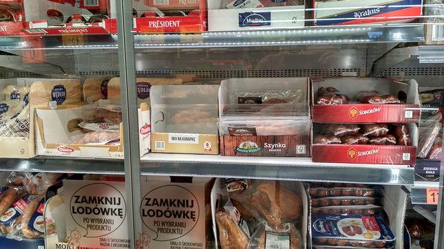 Na zdjęciu naszego czytelnika wyraźnie brakuje cen produktów.