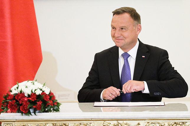 Prezydent Andrzej Duda podsumował swoją pracę