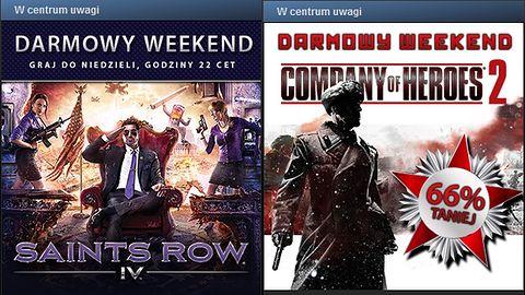 W weekend pogracie za darmo w Saints Row 4 i Company of Heroes 2