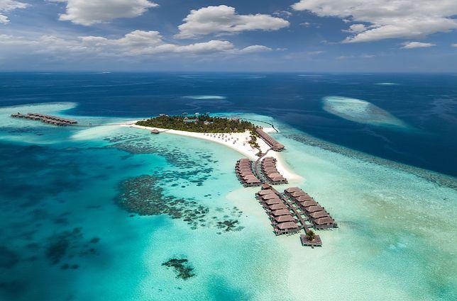Malediwy słyną m.in. z raf koralowych