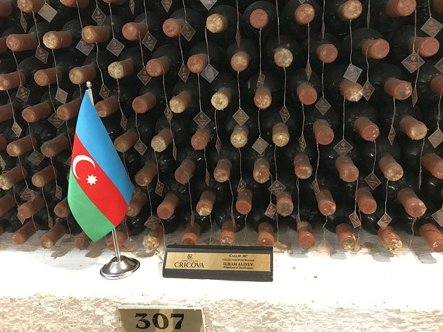 Cricova. Wino należące do prezydenta Azerbejdżanu (fot. Krzysztof Matys)