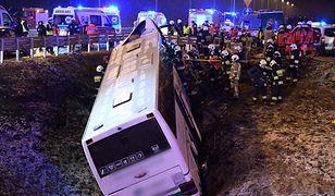 Podkarpackie. Poważny wypadek autobusu na A4