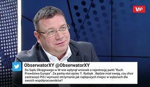 """Michał Wójcik o """"partii Tadeusza Rydzyka"""". Stanowcza deklaracja"""