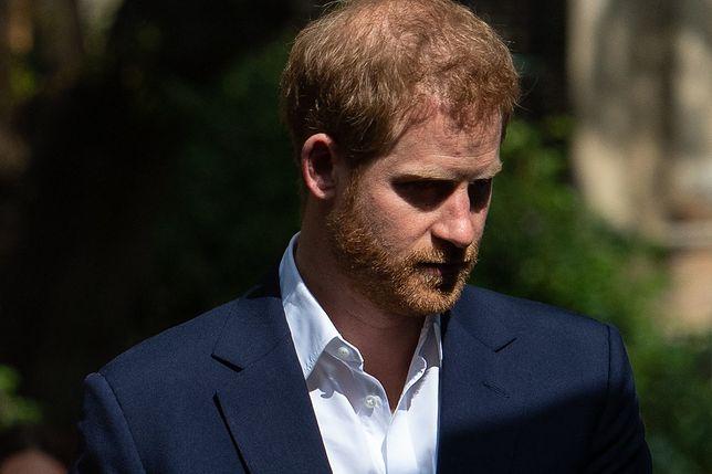 Książę Harry zdobył się na bardzo szczere wyznanie