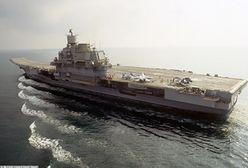 """""""Admirał Kuzniecow"""" może zostać rozebrany. Ogromne straty po pożarze"""