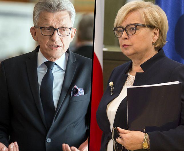 Stanisław Piotrowicz przegrał z Małgorzatą Gersdorf