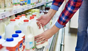 Mleko przechowywane w nieodpowiedni sposób szybko się psuje