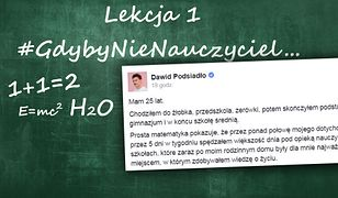 #GdybyNieNauczyciel - akcja Wirtualnej Polski