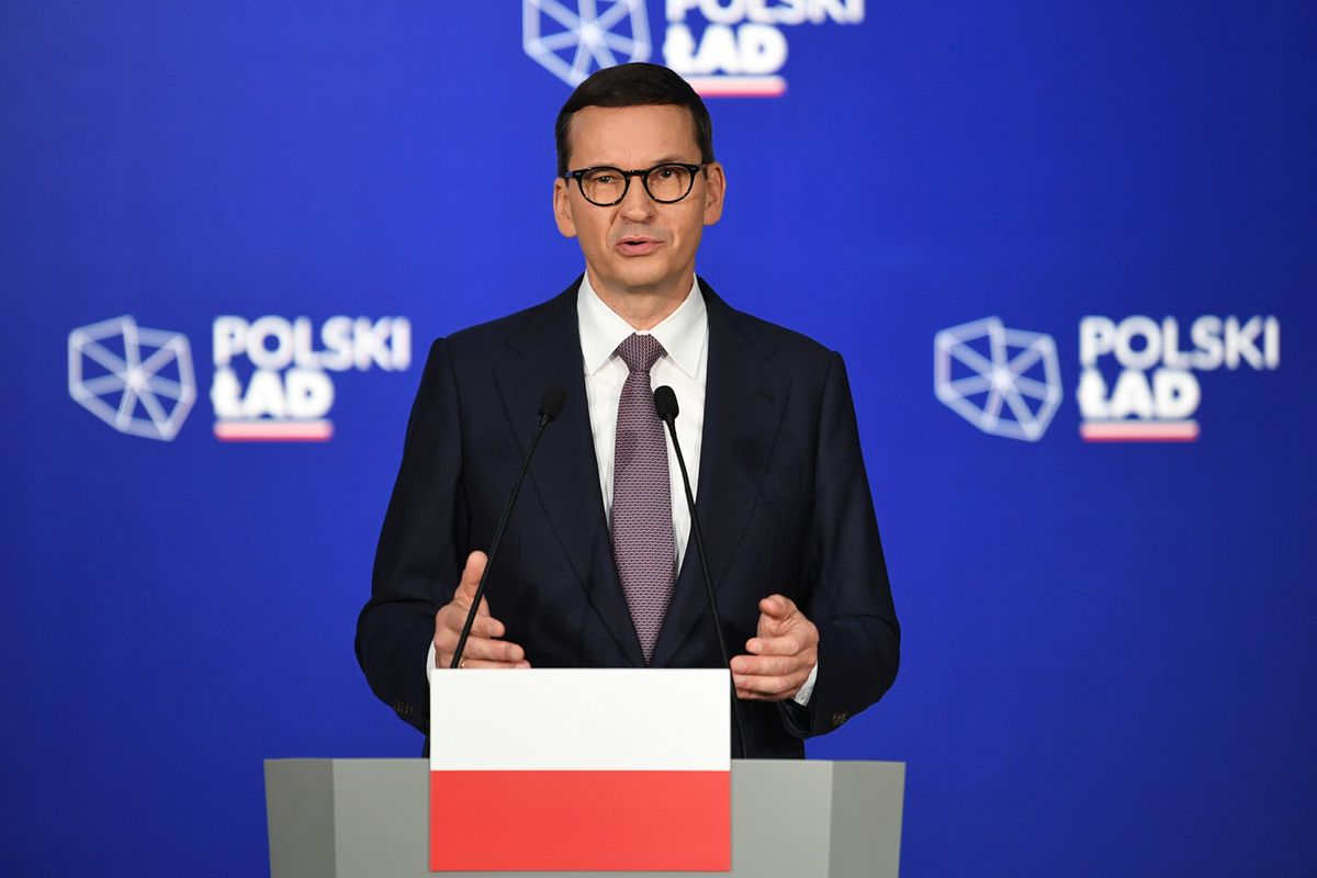 Mateusz Morawiecki podczas spotkania w Przecławiu krytykował Platformę Obywatelską