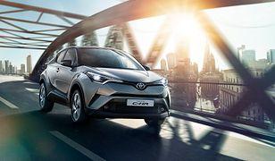 Toyota C-HR jest jednym z modeli, który mocno wzmocnił sprzedaż hybryd w Europie